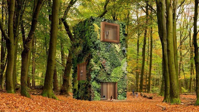 Sustainable Houses Designed as Trees by Oas1s (3)