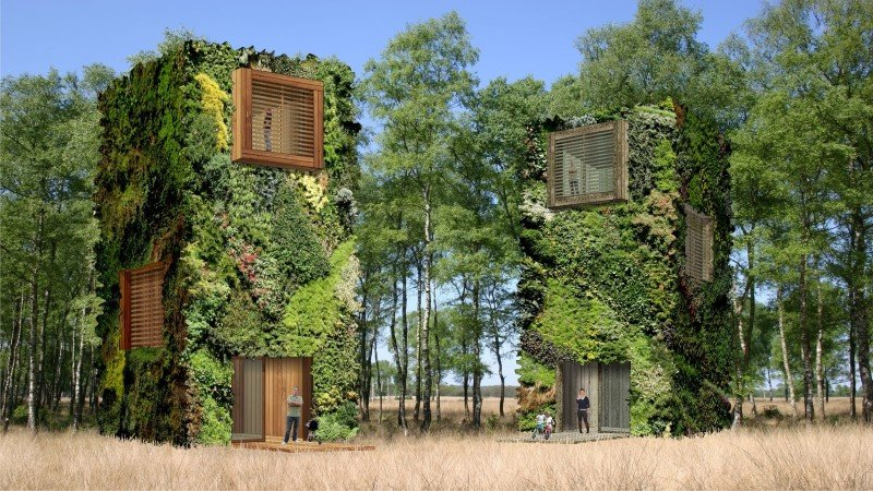 Sustainable Houses Designed as Trees by Oas1s (4)