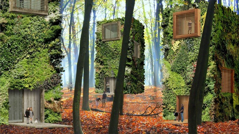 Sustainable Houses Designed as Trees by Oas1s (5)