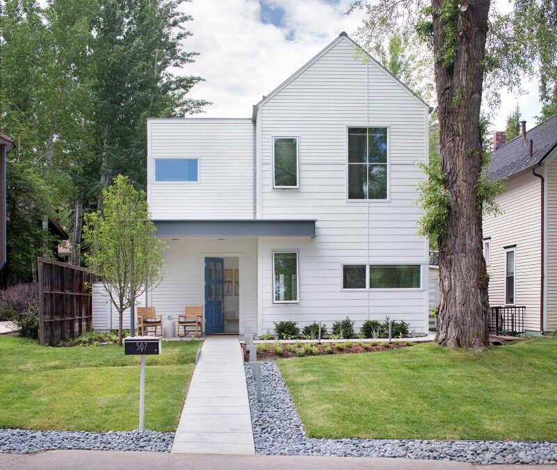 Sustainable design and modern interpretation of the historic miner home Game On House (1)