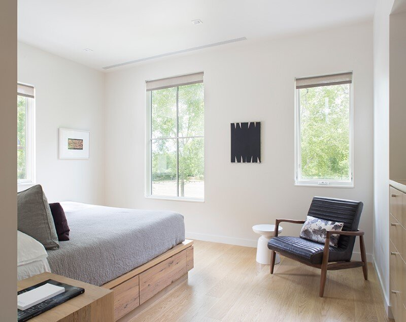 bedroom, Rowland+Broughton Architecture