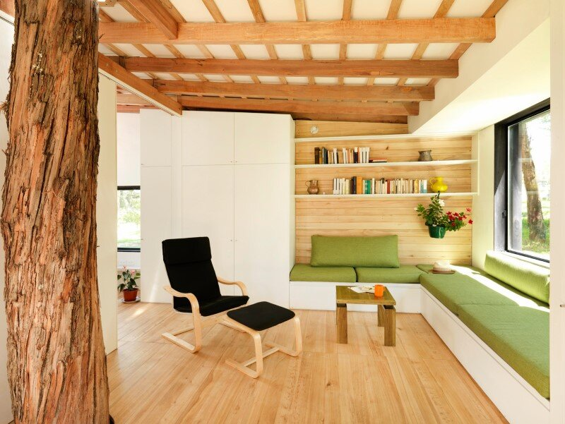 Sustainable housing prototype - House with low footprint and high energy efficiency (5)