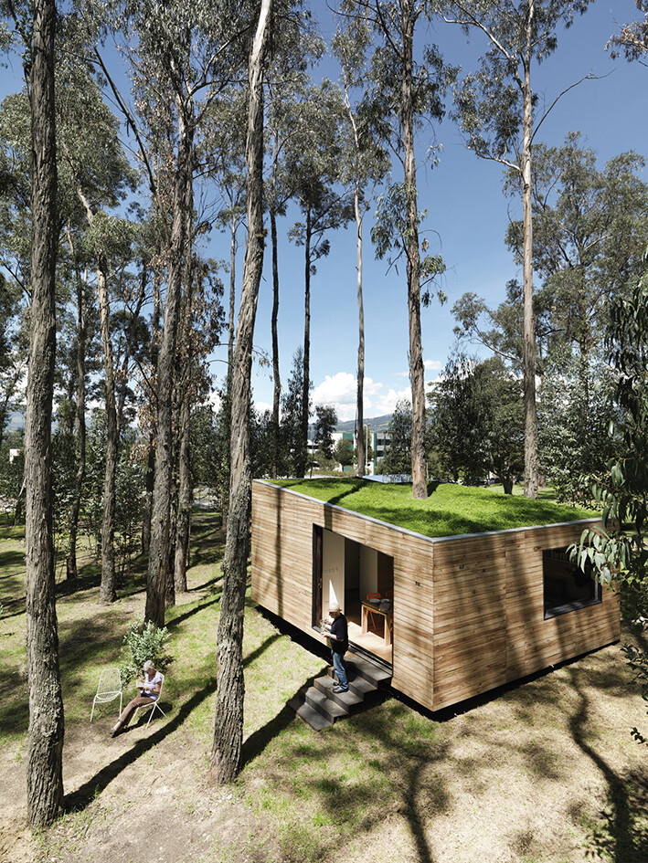 House with low footprint and high energy efficiency (7)