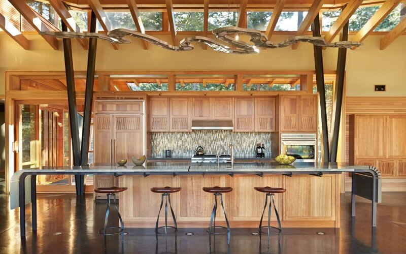 Sustainable mountain house in the Methow Valley of Washington State 8