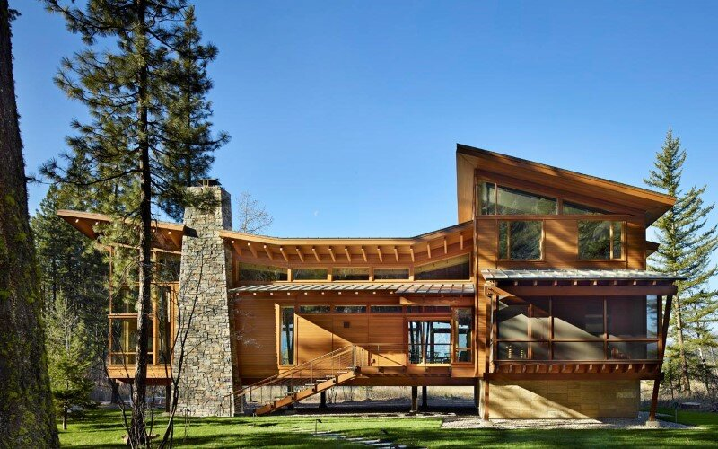 Sustainable mountain house in the Methow Valley of Washington State 2