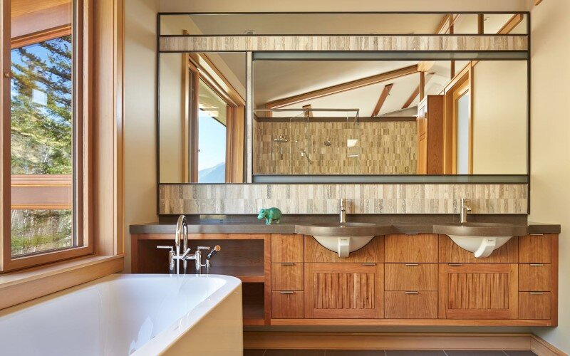 Sustainable mountain house in the Methow Valley of Washington State 13