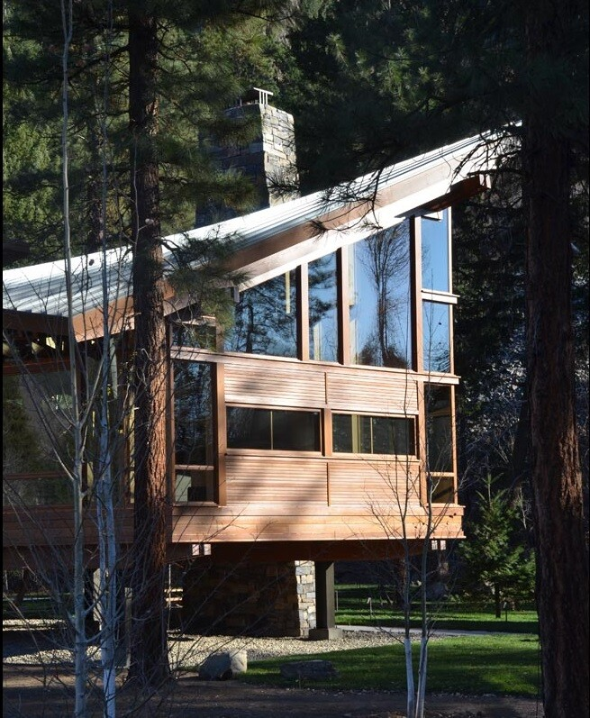 Sustainable mountain house in the Methow Valley of Washington State (3)