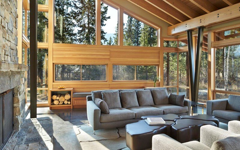 Sustainable mountain house in the Methow Valley of Washington State 5