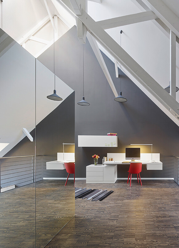 Two Drab Office Floors Transformed into a Residential Loft 9