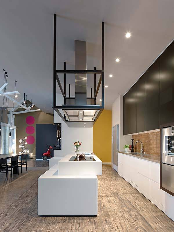 Two Drab Office Floors Transformed into a Residential Loft (7)