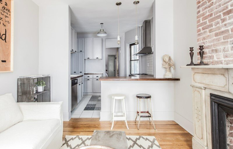 Upper East Side Apartment - Cozy and Welcoming with a Mellow Monochromatic Palette (6)