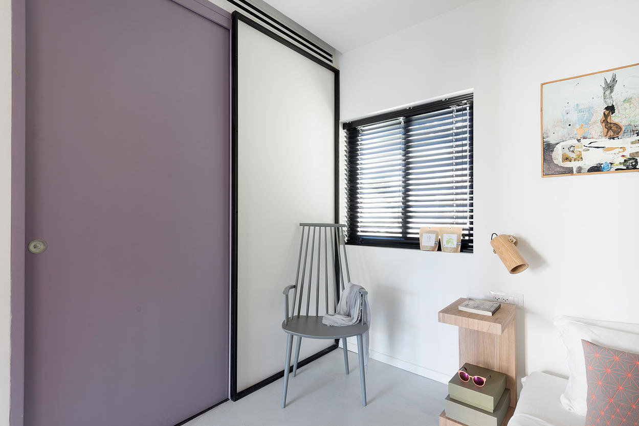 When Color Meets Calm - 55 square meters in Central Tel Aviv (8)