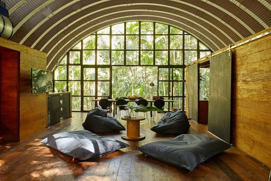 ARCA House is Like a Ship in the Middle of the Brazilian Atlantic Forest 1