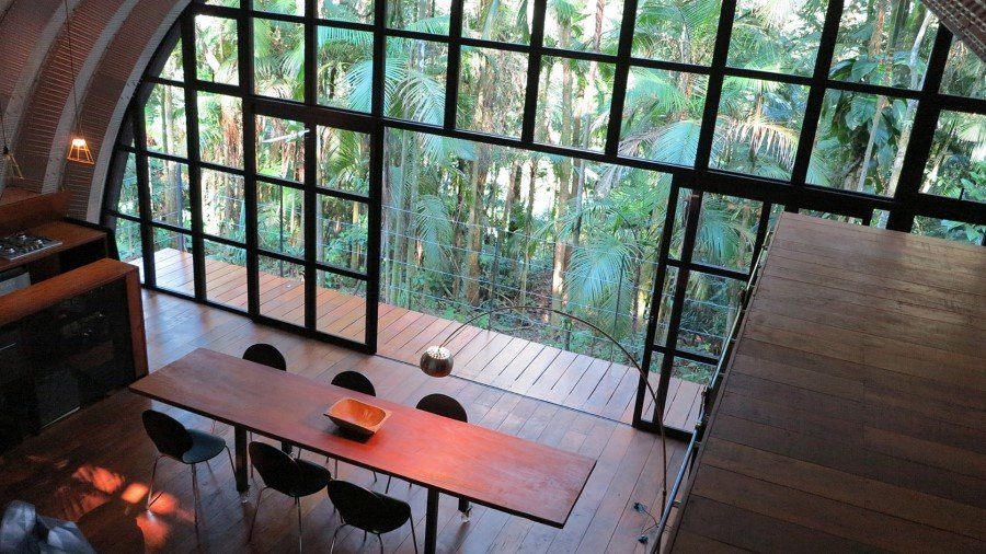 ARCA House is Like a Ship in the Middle of the Brazilian Atlantic Forest (17)