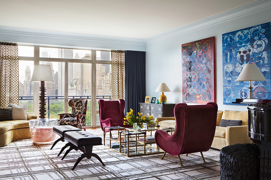 Central Park West Apartment in New York City - designed by D'Aquino Monaco (1)