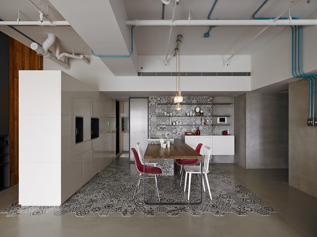 Eclectic Interiors Personalized with Different Textures (2)