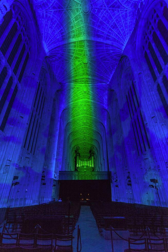 Immersive Projections in King's College Chapel, University of Cambridge (11)