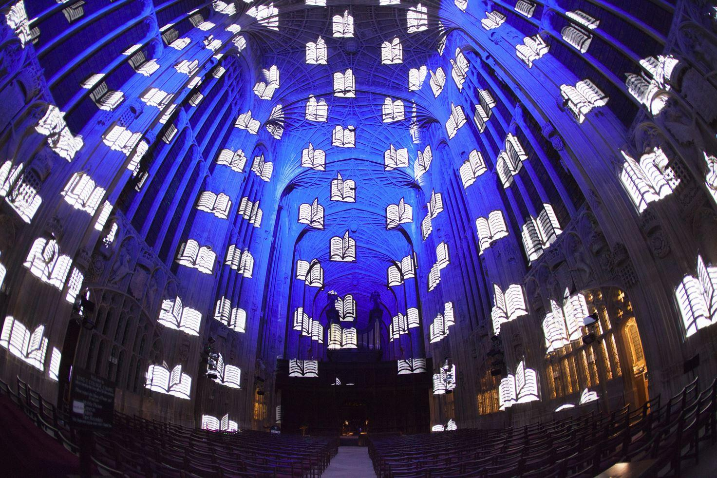 Immersive Projections in King's College Chapel, University of Cambridge (12)