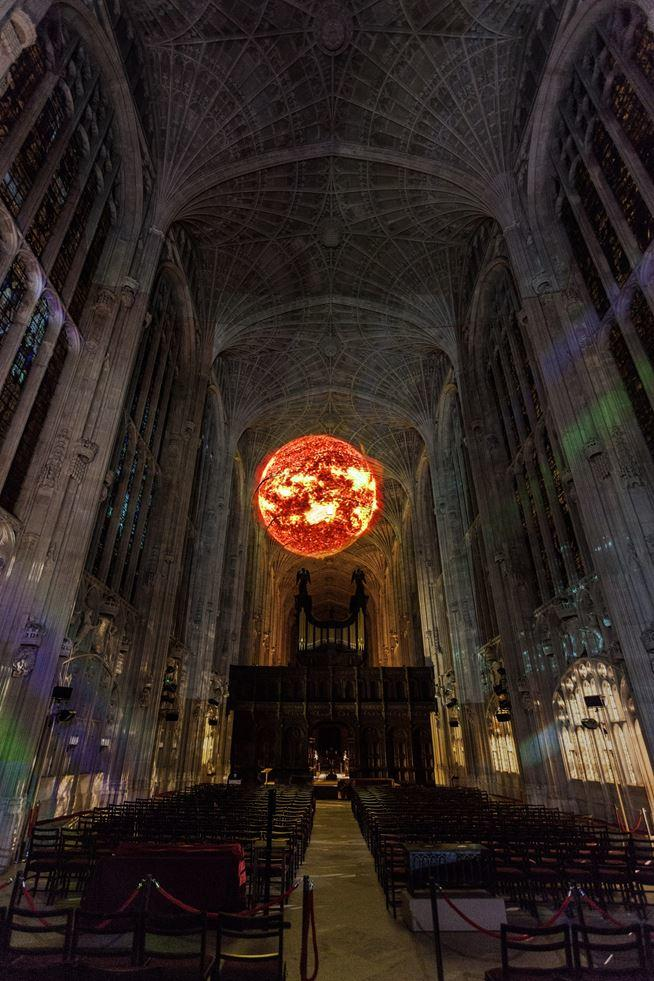 Immersive Projections in King's College Chapel, University of Cambridge (8)