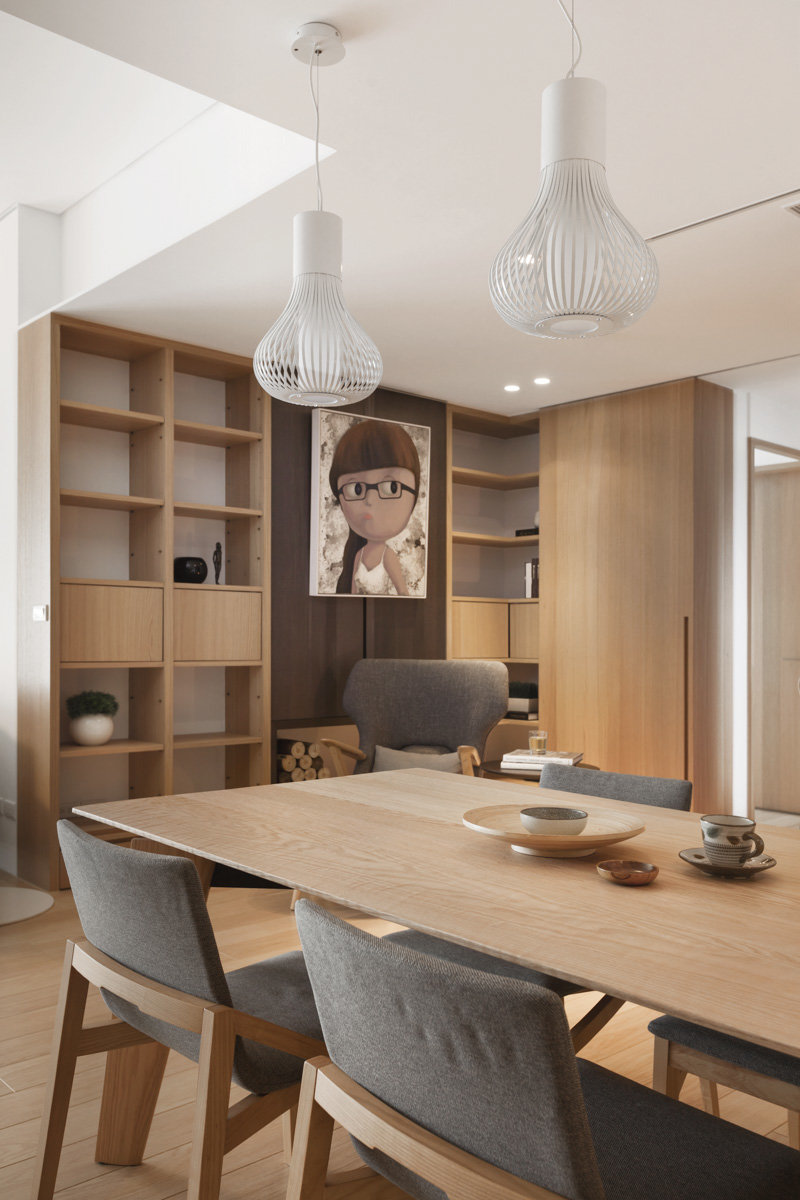 Pure apartment / JS Space