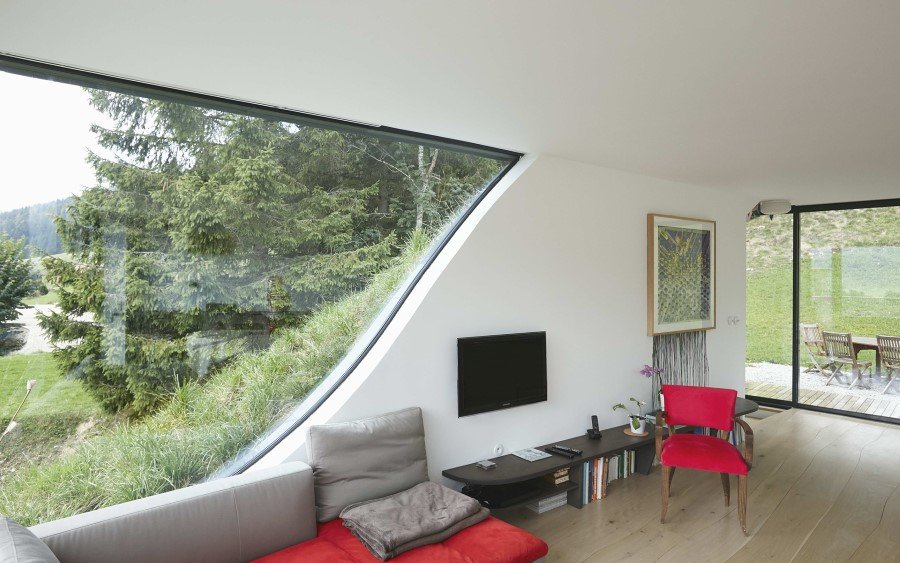 Jura House Blends into the Surrounding Hill  (12)