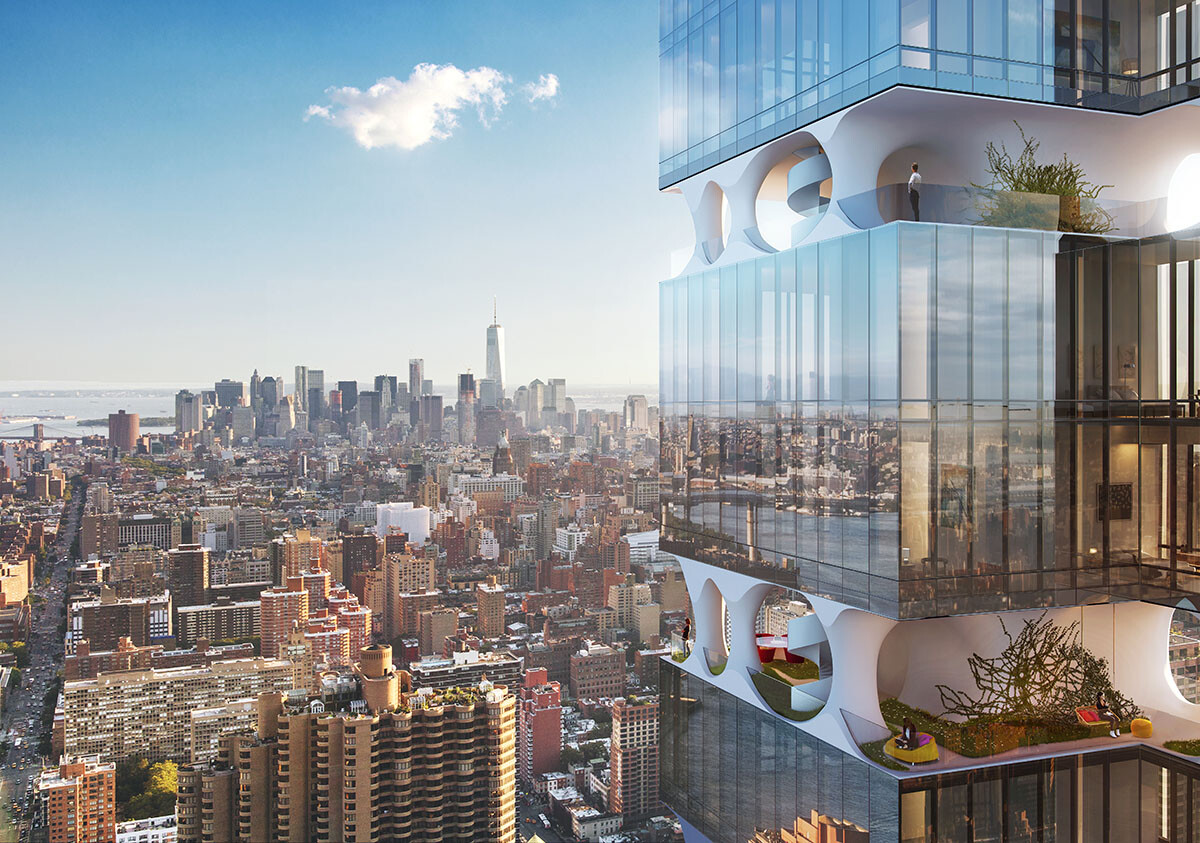 ODA Architecture Proposes An Ultra-Slender Residential Tower in Manhattan (1)