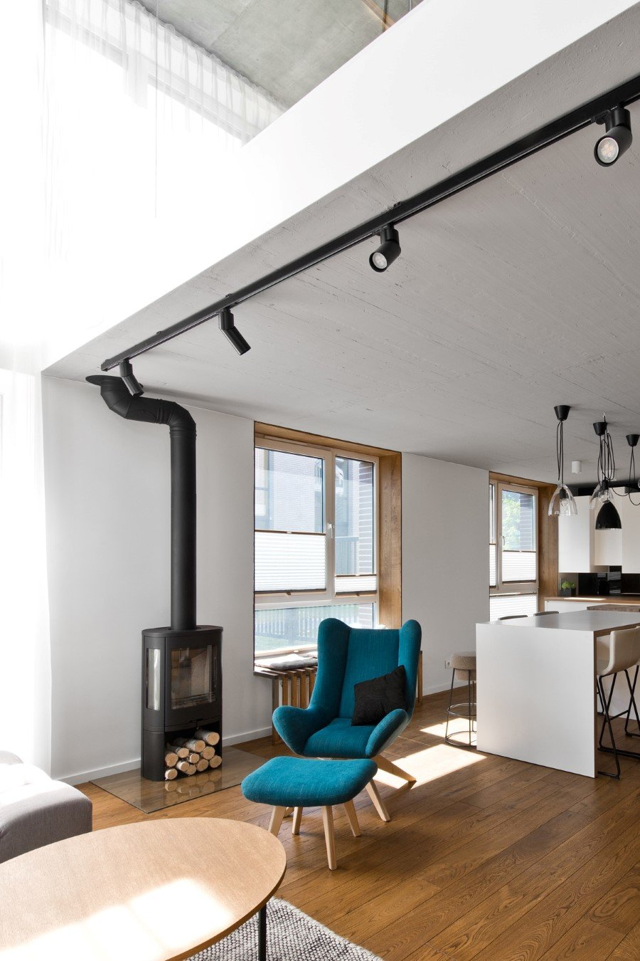 Scandinavian Modern Loft Interior by InArch (15)