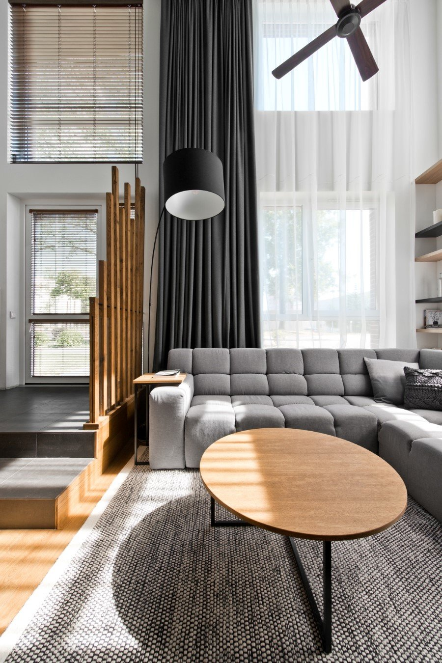 Scandinavian Modern Loft Interior by InArch (3)
