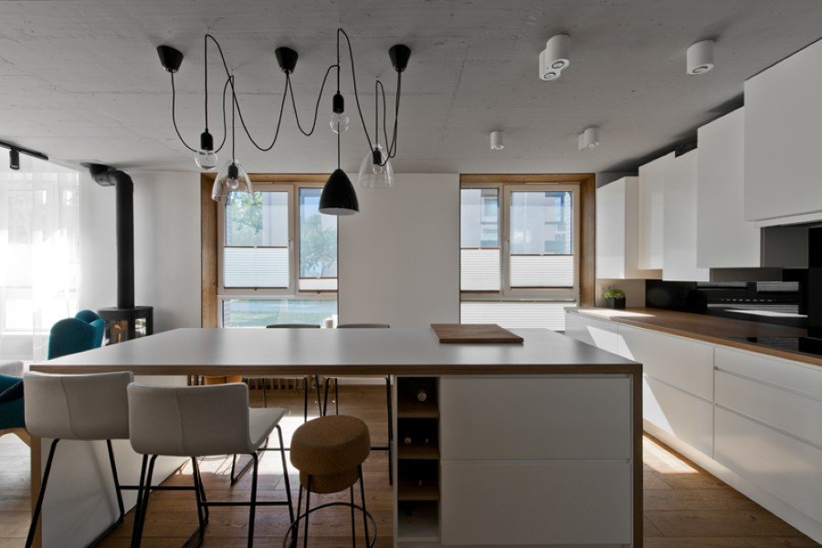 Scandinavian Modern Loft Interior by InArch (7)