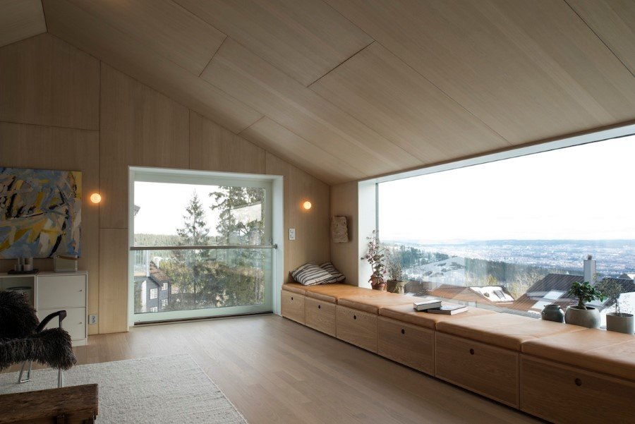 "Single family wood house ""on top of Oslo"" (8)"