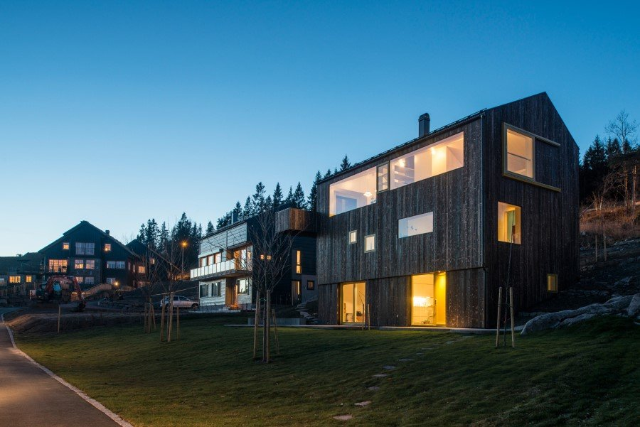 "Single family wooden house ""on top of Oslo"" (1)"