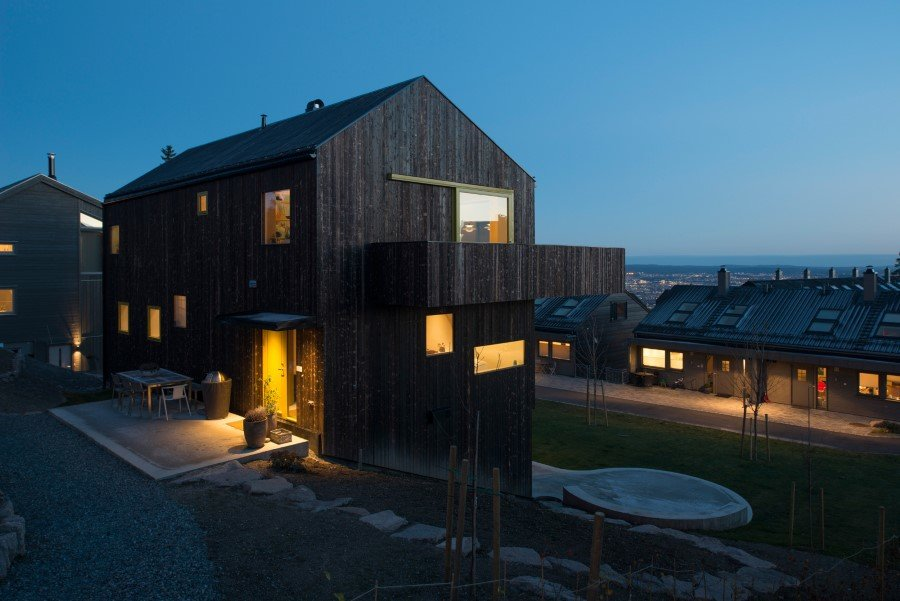 "Single family wooden house ""on top of Oslo"" (10)"