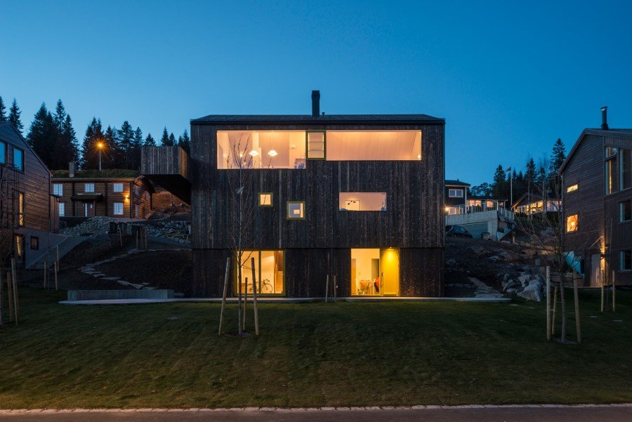 "Single family wooden house ""on top of Oslo"" (11)"