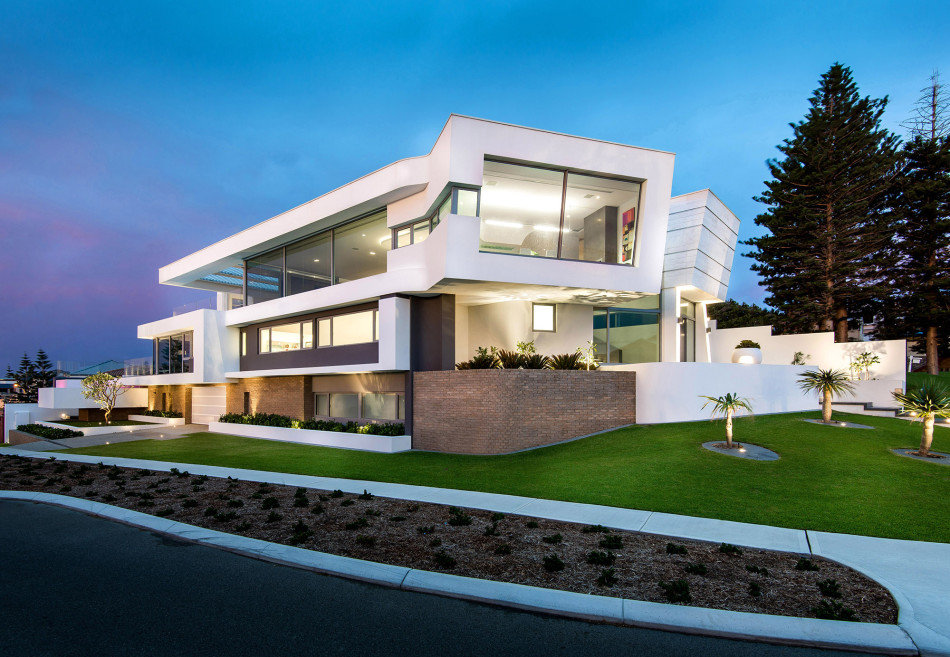 Summer Residence with a Dramatic Multi-Level Form (7)