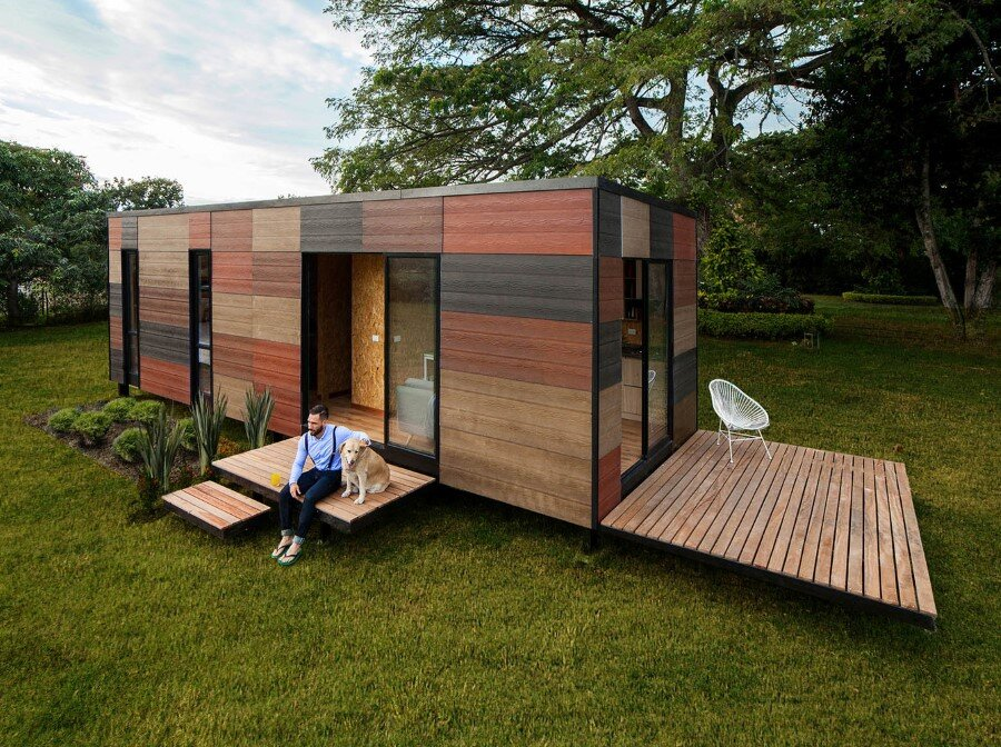 Vimob is a Modular Housing Solution for Areas with Difficult Access (2)