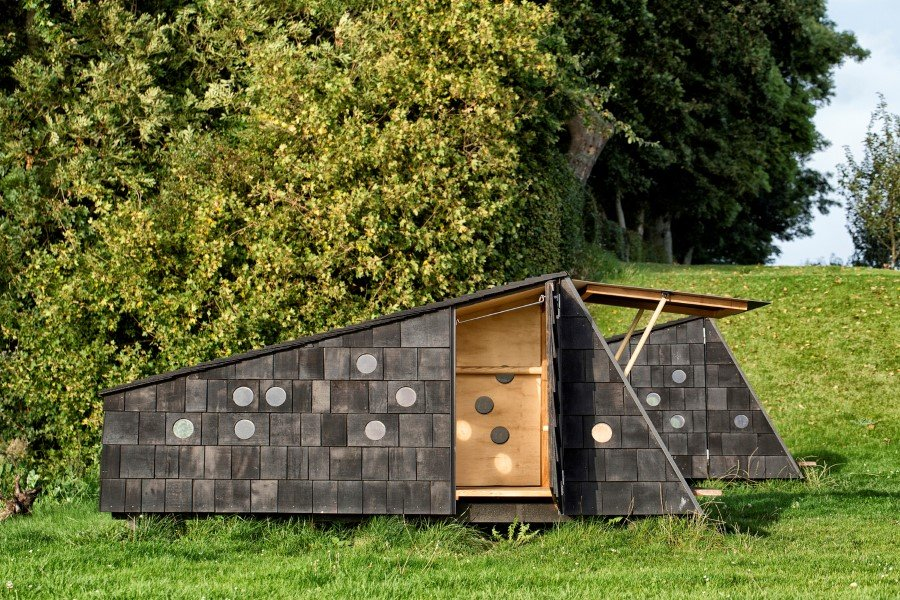 Wooden Shelters and Campsites on the Danish Coast (14)