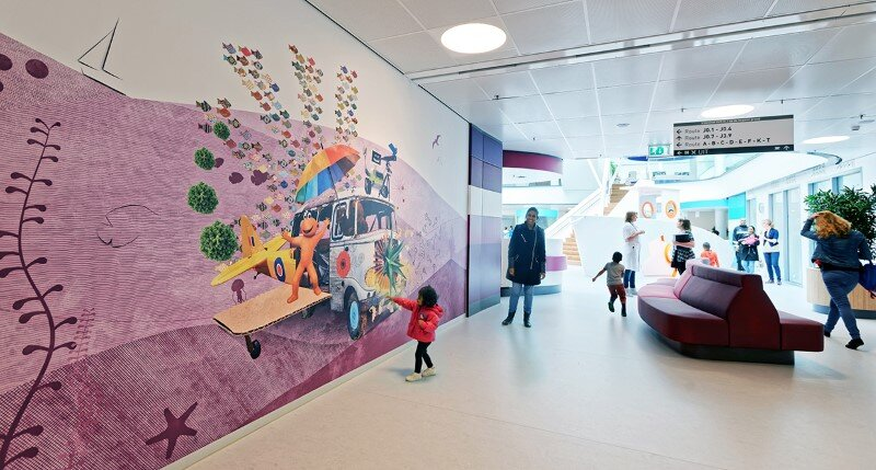 Juliana Children's Hospital - Healthcare Design with Creative Technology and Storytelling (19)