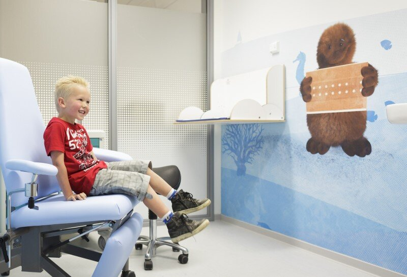 Juliana Children's Hospital - Healthcare Design with Creative Technology and Storytelling (2)