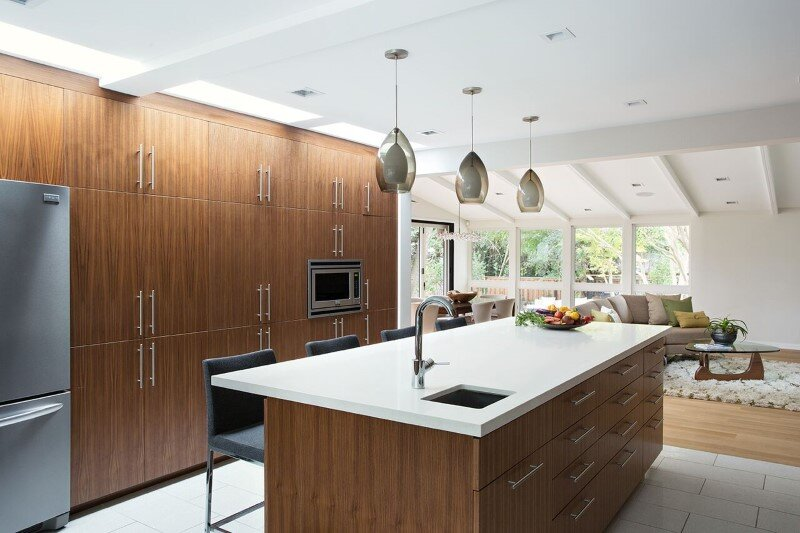 Mid-Century Modern House Remodeled for a Family of Five (2)