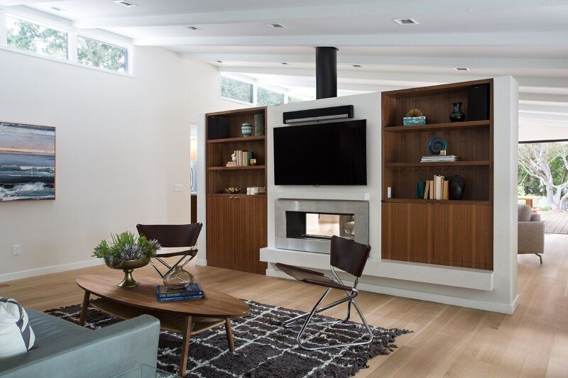 Mid-Century Modern House Remodeled for a Family of Five (3)