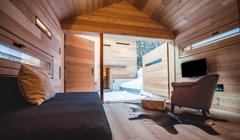 Mountain Lodge Tamersc Inspired by Alpine Traditions in South Tyrol (10)