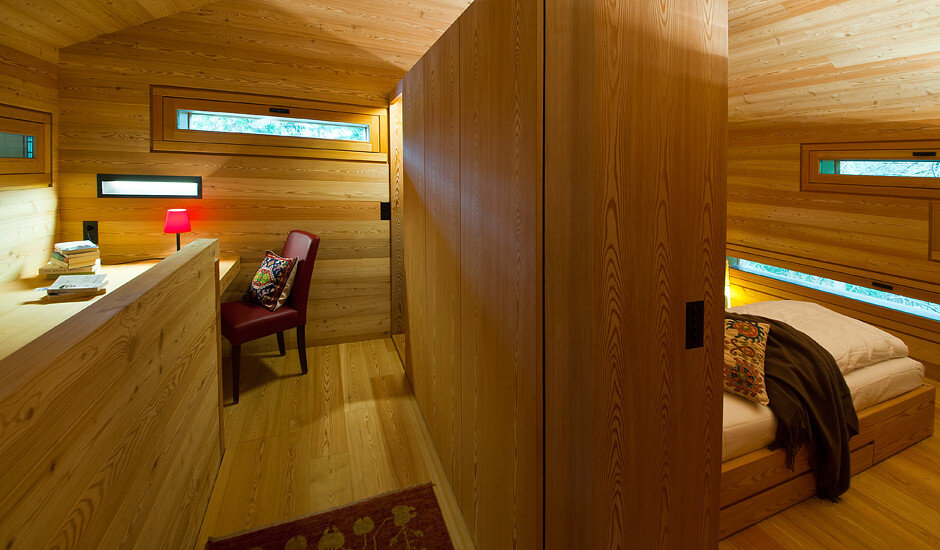 Mountain Lodge Tamersc Inspired by Alpine Traditions in South Tyrol (7)