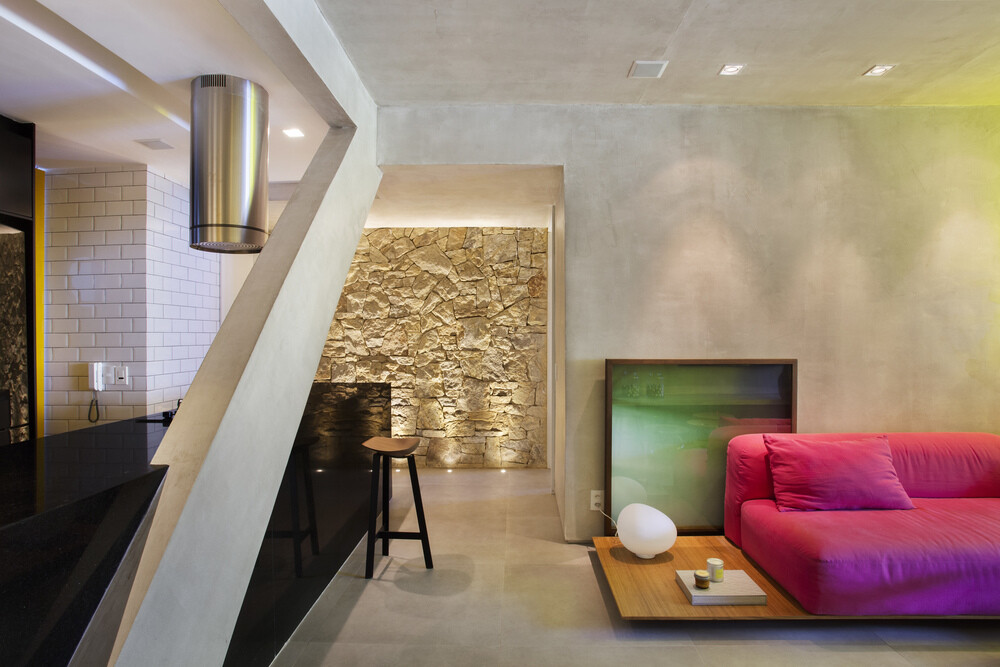 New York Style Apartment in Ipanema Automated and Controlled Via Ipad (4)