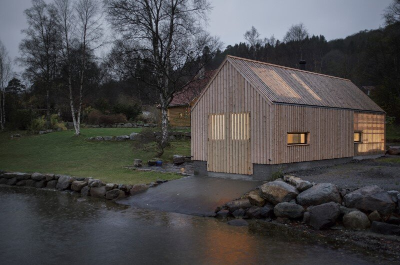 Old boat house converted into recreational space (12)