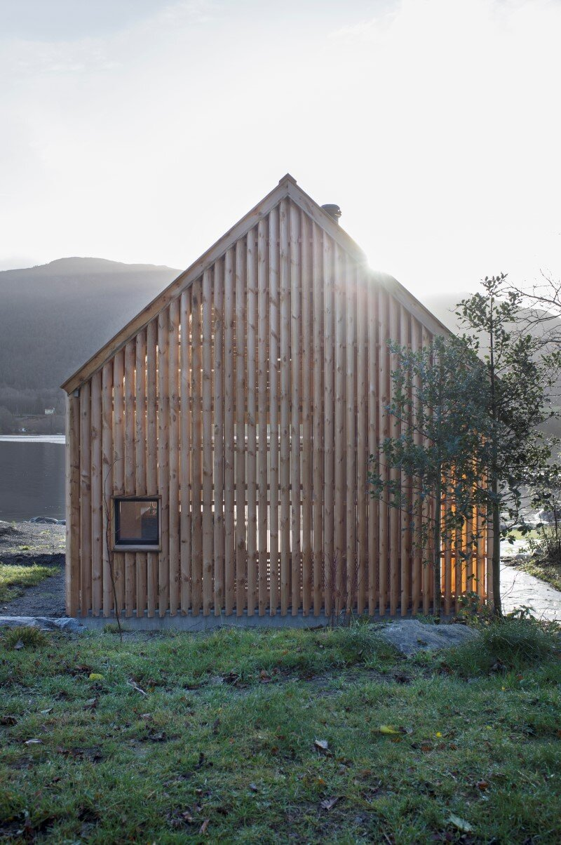 Old boat house converted into recreational space (3)