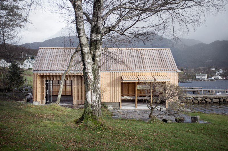 Old boat house converted into recreational space (4)