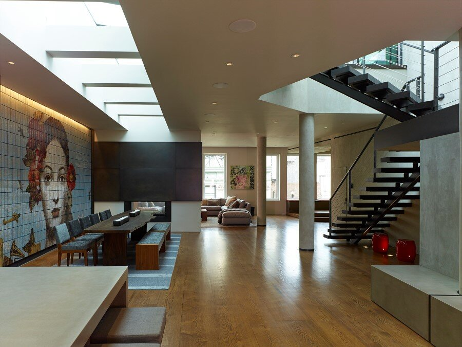 Penthouse Loft with Dramatic View of the New York City (2)