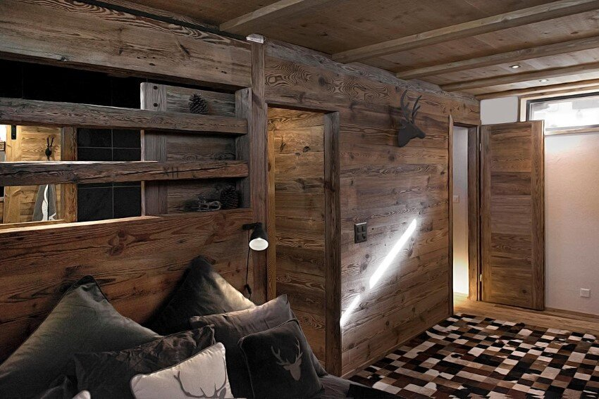 Old Barn Transformed into a Small Cottage for a Young Family 4