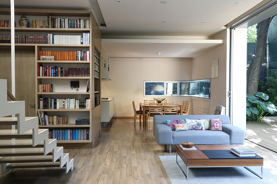 Small Eco-Friendly Home in Mexico City by Paul Cremoux Studio (2)