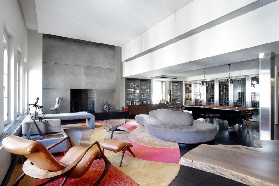 Spectacular and Fashionable Tribeca Penthouse in New York (4)